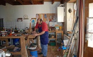 Atelier du luthier Jean Philippe Bonnefond